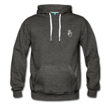 Peace Out - Men's Premium Hoodie - charcoal gray