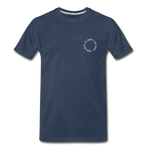 Happy 360 - Men's Premium Organic T-Shirt - navy