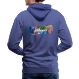 Happy Splash - Men's Premium Hoodie - royalblue