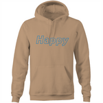 Happy Winter Shred - Pocket Hoodie Sweatshirt