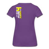 Happy - Women's Premium T-Shirt - purple
