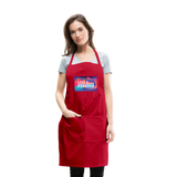 Love & Happiness Forever - Adjustable Apron - red