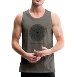 Breathe - Men's Premium Tank - asphalt gray