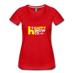 Happy - Women's Premium T-Shirt - red
