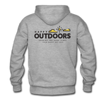 Happy Outdoors - Men's Premium Hoodie - heather gray
