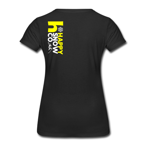Happy - Women's Premium T-Shirt - black