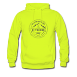 Great Outdoors - Men's Hoodie - safety green