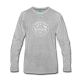 Great Outdoors - Men's Premium Long Sleeve T-Shirt - heather gray