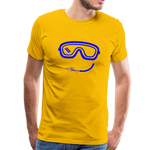 Happy (Goggles) - Men's Premium T-Shirt - sun yellow