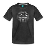 Great Outdoors - Kids' Premium T-Shirt - charcoal gray