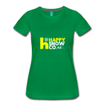 Happy - Women's Premium T-Shirt - kelly green