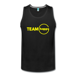 Team Happy - Men's Premium Tank - black