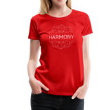 Harmony - Women's Premium T-Shirt - red