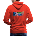Happy Splash - Men's Premium Hoodie - red