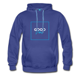 Good Vibes Bright - Men's Premium Hoodie - royalblue