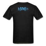 Karma Eye - Adult Tagless T-Shirt - black