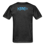 Karma Eye - Adult Tagless T-Shirt - charcoal gray