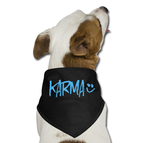 Karma - Dog Bandana - black