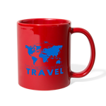 Happy Travel - Full Color Mug - red