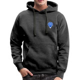 Enjoy Every Moment - Men's Heavyweight Premium Hoodie - charcoal