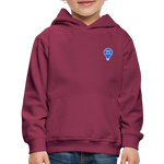 Enjoy Every Moment - Kids' Premium Hoodie - burgundy