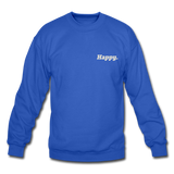 Happy. - Crewneck Sweatshirt - royal blue