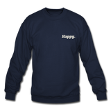 Happy. - Crewneck Sweatshirt - navy