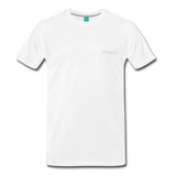 Happy. - Men's Premium T-Shirt - white