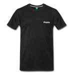 Happy. - Men's Premium T-Shirt - black