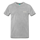 Happy. - Men's Premium T-Shirt - heather gray