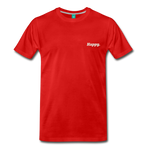 Happy. - Men's Premium T-Shirt - red