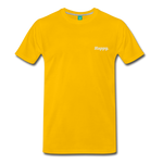 Happy. - Men's Premium T-Shirt - sun yellow