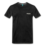 Happy. - Men's Premium T-Shirt - charcoal gray