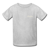 Happy. - Kids' T-Shirt - heather gray
