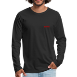 Love. - Men's Premium Long Sleeve T-Shirt - black