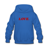 Love. - Kids' Hoodie - royal blue
