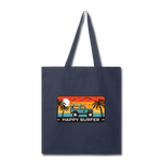 Happy Surfer - Tote Bag - navy
