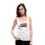 Happy Surfer - Women's Premium Tank Top - white