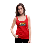 Happy Surfer - Women's Premium Tank Top - red
