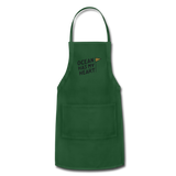 Ocean Has My Heart - Adjustable Apron - forest green