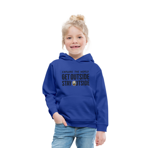 Explore The World - Kids' Premium Hoodie - royal blue
