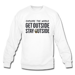 Explore The World - Crewneck Sweatshirt - white
