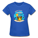 This Is My Vacation T-Shirt - Ladies - royal blue