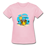 This Is My Vacation T-Shirt - Ladies - light pink