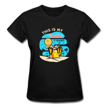 This Is My Vacation T-Shirt - Ladies - black