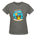 This Is My Vacation T-Shirt - Ladies - charcoal