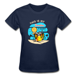 This Is My Vacation T-Shirt - Ladies - navy