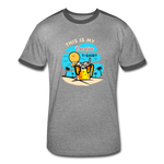 This Is My Vacation T-Shirt - Men's Retro - heather gray/charcoal