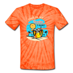 This Is My Vacation T-Shirt - spider orange