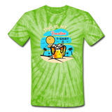 This Is My Vacation T-Shirt - spider lime green